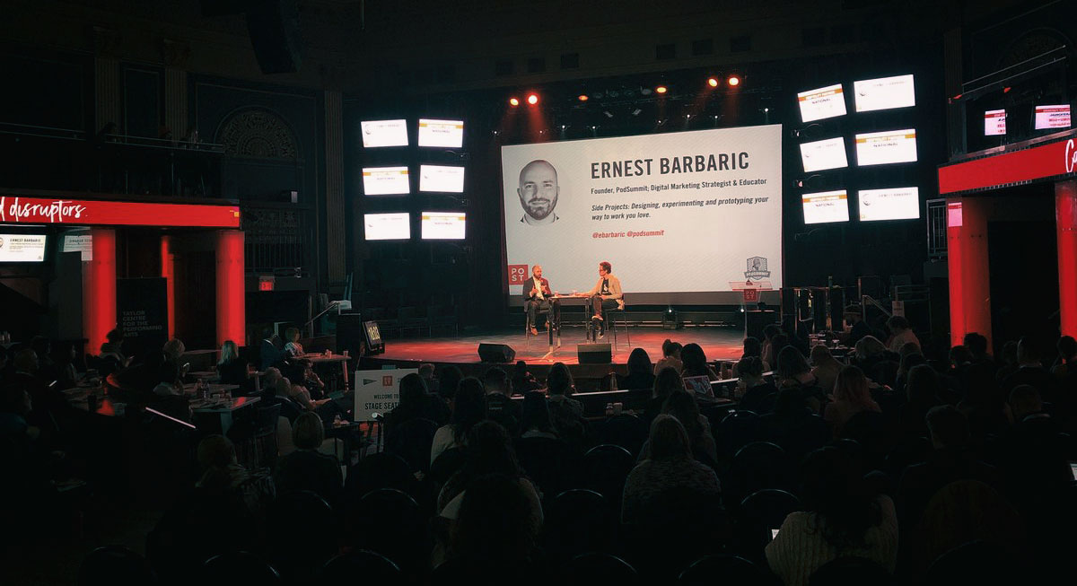 Ernest Barbaric Keynote Speaker Canada